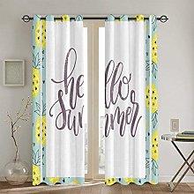 ZUL Blackout Curtains,Classics Fabric Design Style
