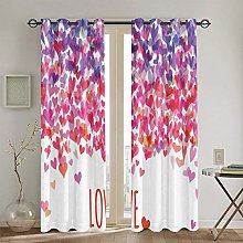 ZUL Blackout Curtains,Colorful Local Motif Pattern
