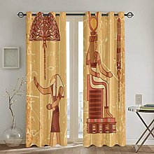 ZUL Blackout Curtains,Colorful Pattern Of
