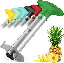 Zulay Kitchen Pineapple Corer and Slicer Tool -
