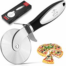 Zulay Premium Pizza Cutter - Food Grade Stainless