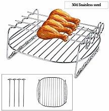 Zunate Barbecue,Metal Holder,Air Fryer Accessories