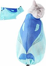 ZUOLUO Cat Grooming Bag Cat Carry Pouch Cat Claw