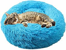 ZUOLUO Puppy Bed Pet Bed Doughnut Dog Bed Small