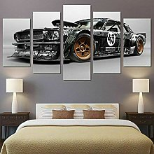 zuomo 5 Pcs Canvas Picture Print Wall Art Canvas