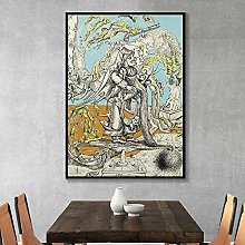 zuomo Artwork Painting Canvas Poster Print Cuadros