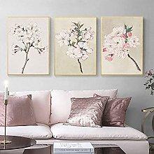 zuomo Cherry Blossom Poster Vintage Botanical