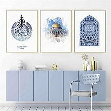 zuomo Islamica Poster Canvas Print Painting