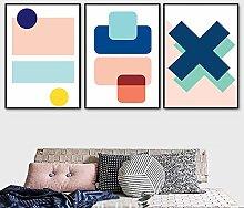 zuomo Modern Nordic Geometric Simple Design Canvas