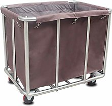 ZUQIEE Cart Trolley On Wheels Tool Mobile Linen