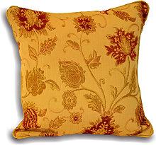 Zurich Cushion Cover (55x55cm) (Gold) - Riva Home