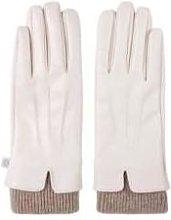 Zusss - Gloves Cream Or Black - Zwart