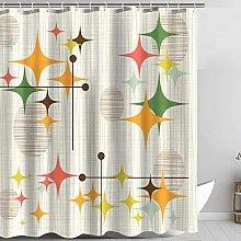 Zussun Shower Curtain Set Bathroom Fabric Fall