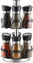 Zuvo Premium 12 Jar Revolving herb potsSpice and