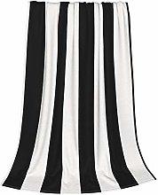 ZVEZVI Black And White Mosaic Vertical Stripes
