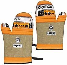 ZVEZVI Busy Deals New Retro Orange Guitar Electric