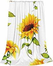 ZVEZVI Sunflowers On White Hand Watercolor Kids