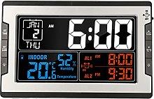 Zwbfu Digital Multifunctional Clock with Indoor