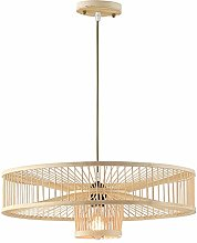 ZWDEDIAN Chinese Style Chandelier Bamboo Woven