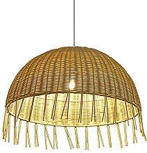 ZWDEDIAN Southeast Asia Rattan Lamp Creative