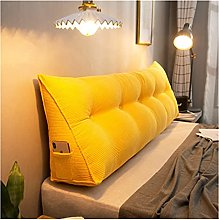 ZWDM Double Bedside Triangle Cushion Daybed