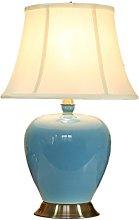ZWeiD Bedroom Bedside Table Lamp, Study Office