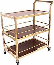ZWH-WDB Hotel Trolley Roller Wheels Storage Cart