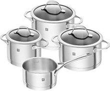 Zwilling,'Kochgeschirr Essence' Cooking Pot Set 4 Pcs