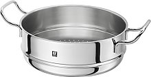 ZWILLING Plus Colander, Stainless Steel, Silver,