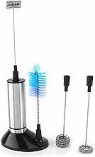 Zwindy Handheld Electric Milk Frother, Stainless