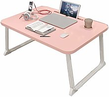 ZWJLIZI Folding Table, Japanese-style Sitting Pink