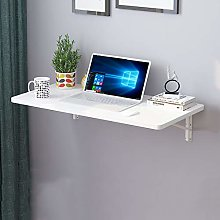 ZWJLIZI Wall-mounted Folding Table, Piano Paint +