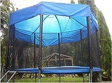 ZWLE Outdoor Trampoline Canopy Fitness Backyard