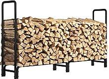 ZWMG Firewood Rack Firewood Storage Rack Outoor