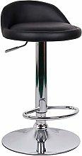 ZWWZ Bar Stool Leather High Stool Stool Reception