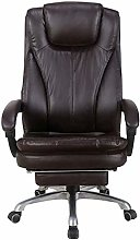 ZWWZ Bar Stools Office Desk Chair with Footrest,