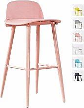 ZWWZ Nordic Front Desk Chair Bar Chair Stools Bar