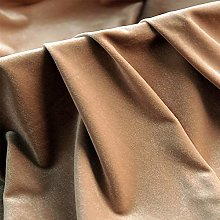 ZXC Velvet Fabric 160 cm Wide Premium Crushed