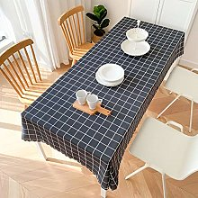 ZXCN Luxury Modern Wipe Clean Tablecloths Simple