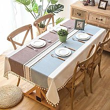 ZXCN Water Resistant Table Cloth Anti Scalding