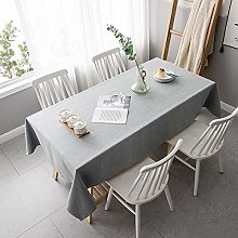 ZXCN Water Resistant Tablecloth Cotton Linen Wear