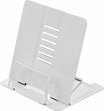 ZXCVB Steel Book Stand Cookbook Holder, for