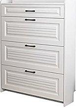 ZXCVBNM Tipping Shoe Cabinet Storage Organizer