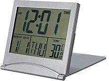 ZXF Calendar Date Digital Alarm Desk Clock