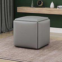 ZXF- Combination Stackable Sofa Chair Stool, 5 In