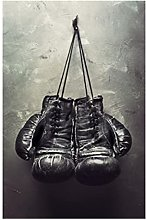 zxianc Canvas Art Pictures Sports Room Boxing