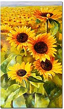 zxianc Canvas Painting HD Print Sunflower Poster