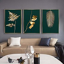 zxianc Canvas Print Gold Luxury Painting Abstract