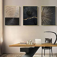 zxianc Nordic Canvas Painting Abstract Retro