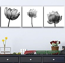 zxianc Print On Canvas Flowers Water Lily Lotus